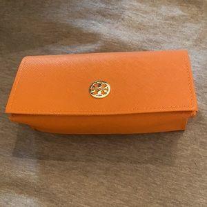 Tory Burch Orange Sunglasses Case